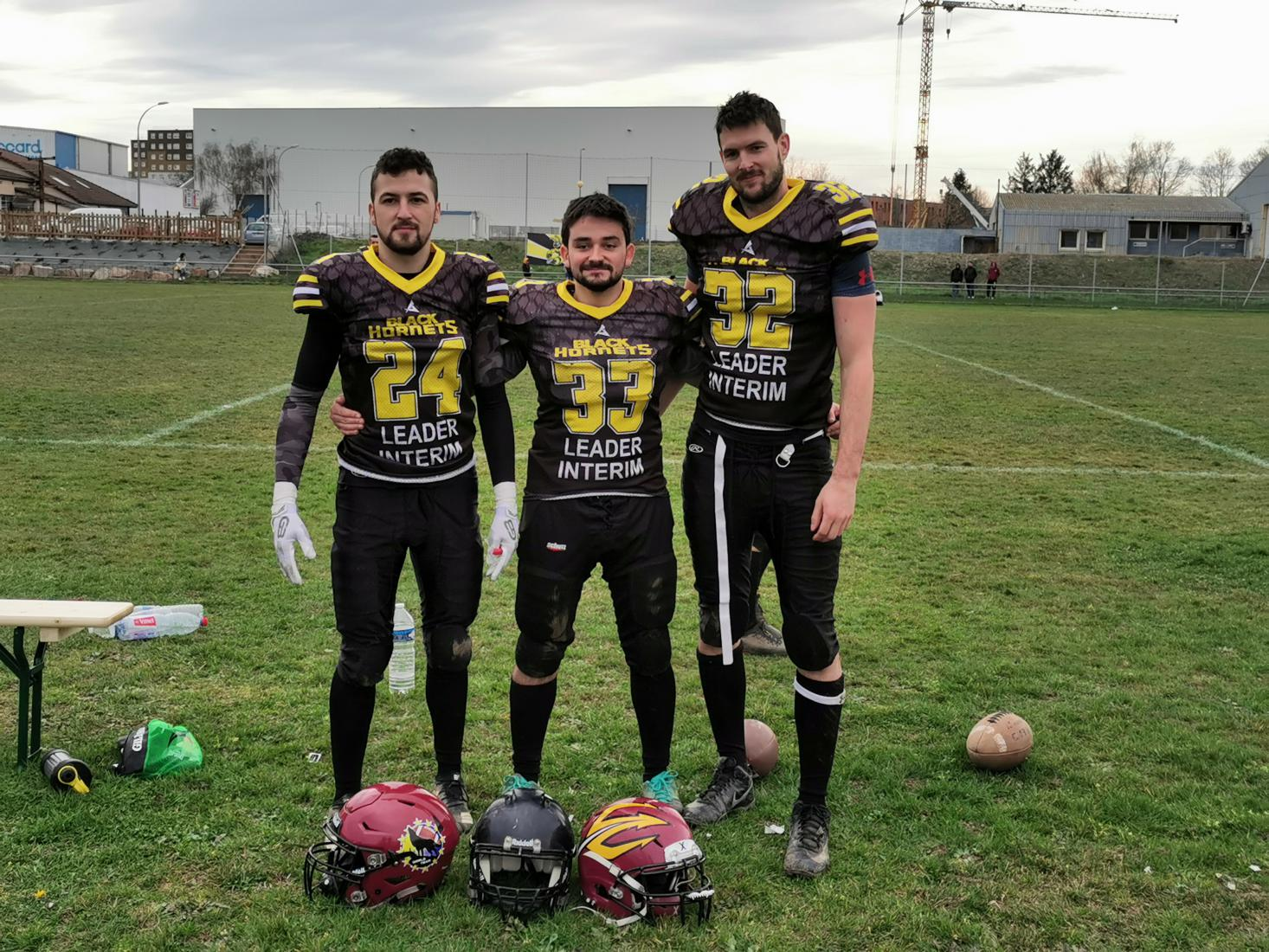 premier match entente black hornets - poséidons